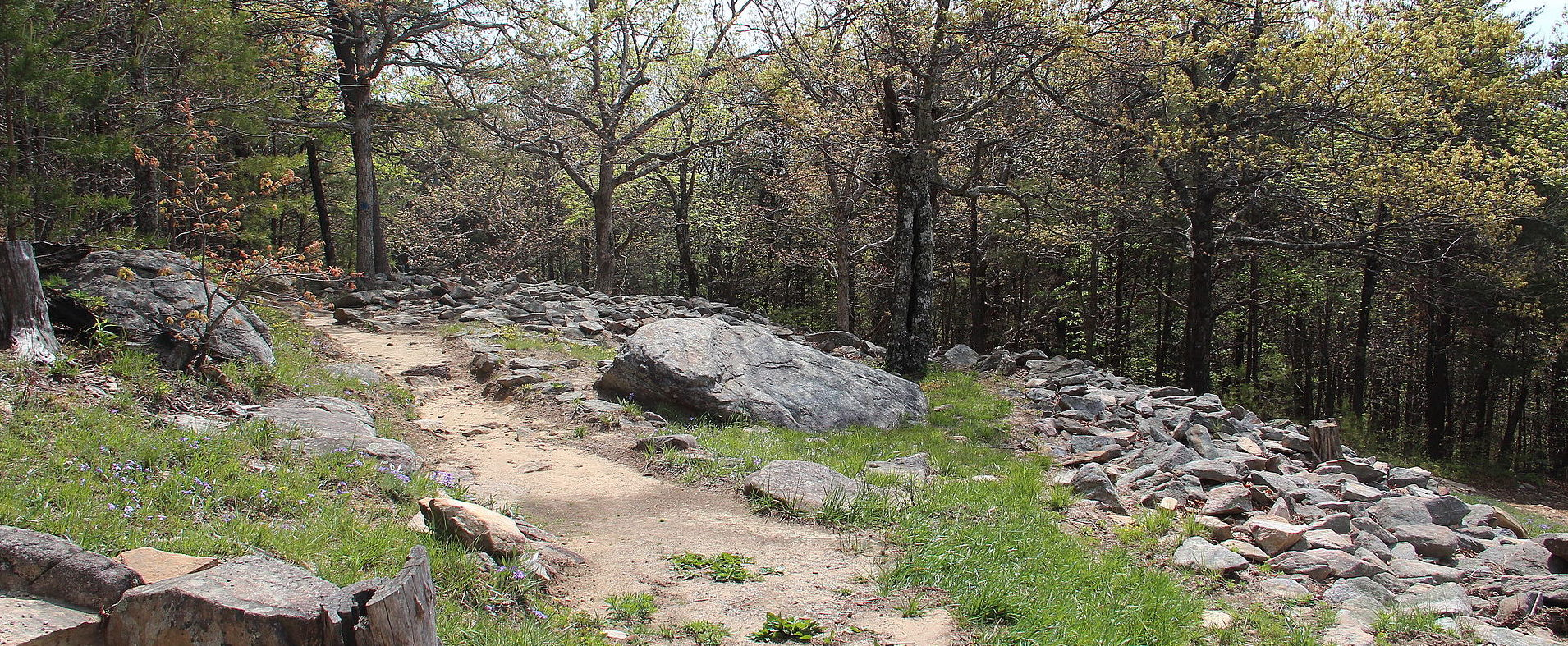 Fort Mountain State Park Ruins